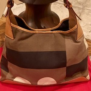 Authentic Bally Color-block Shoulder bag